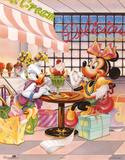 Minnie Mouse and Daisy Duck Ice Cream Parlour