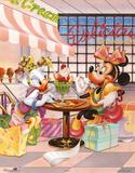 Minnie Mouse and Daisy Duck Ice Cream Parlour