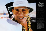 Fear and Loathing Las Vegas Movie Poster Johnny Depp