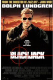 Blackjack Movie Dolph Lundgren Original Poster Print