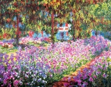 Buy The Artist's Garden at Giverny, c.1900 at AllPosters.com