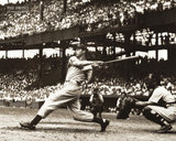 Joe Dimaggio The Swing Sports Poster Print