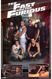 The Fast and the Furious Movie (Group) Poster Print