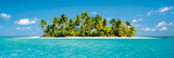 Maldives Island (Tropical Beach) Art Poster Print