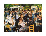 Moulin De La Gallette Art Print