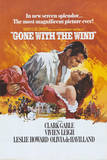 Gone with the Wind Movie Rhett Butler and Scarlett O'Hara Embrace