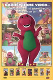 Barney Home Video Original Poster Print