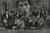Buy Gangsters Collage Godfather Goodfellas Scarface Sopranos Movie Poster Print from Allposters