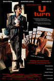 U Turn Movie Sean Penn Jennifer Lopez Original Poster Print