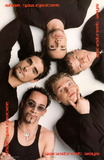 Backstreet Boys Group Circle Music Poster