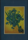 Vincent Van Gogh (Irises) Framed & Double-Matted Art Print