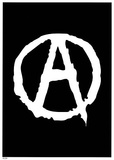 Anarchy (Logo) Art Poster Print Poster