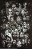 Rap Gods (Rapper Collage) Music Poster Print
