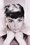 Audrey Hepburn (Lips) Movie Poster Print Poster