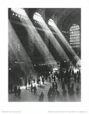 New York City (Grand Central Station) Art Poster Print