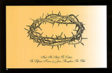 Jesus Christ Crown of Thorns Names Text Art Print Poster