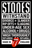 Rolling Stones Declaration Music Poster Print Poster