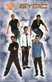 N Sync Group Music Poster