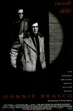 Donnie Brasco Movie (Al Pacino & Johnny Depp, Credits) Poster Print