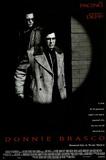 Donnie Brasco Movie (Al Pacino & Johnny Depp, Credits) Poster Print