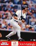 New York Yankees (Don Mattingly, Bat Up, Sports Illustrated) Sports Poster Print