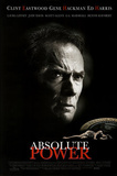 Absolute Power Movie Clint Eastwood Gene Hackman Ed Harris Original Poster Print