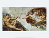 Buy The Creation Of Adam at AllPosters.com