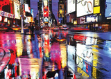 Times Square (Reflections, Huge) Art Poster Print