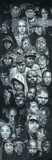 Rap Gods (Collage, Door) Music Poster Print