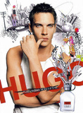 Hugo Boss Jonathan Rhys Meyers Art Postcard Print