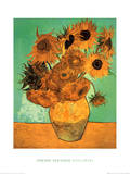 Twelve Sunflowers Art Print