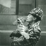 Audrey Hepburn Tiger Lady Greeting Cards 12 Per Package
