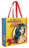 Wonder Woman Aphrodite Athena Large Recycled Shopper