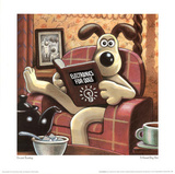 A Grand Day Out with Wallace and Gromit Movie Gromit Reading