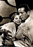 Casablanca Movie (Humphrey Bogart and Ingrid Bergman) Poster Print