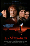 Les Miserables Movie Liam Neeson Geoffrey Rush Uma Thurman Claire Danes Original Poster Print