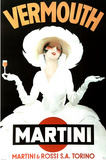 Marcello Dudovich Vermouth Martini and Rossi Art Print Poster