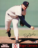 Boston Red Sox (Roger Clemens, Sports Illustrated) Sports Poster Print