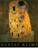 Gustav Klimt (The Kiss) Art Poster Print