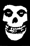 The Misfits (Skull, No Text) Music Poster Print Poster