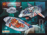 Firefly Serenity Shuttle Cutaway Views TV Poster Print