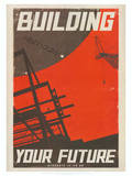 Star Trek Movie Building Your Future Poster Print