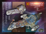 Firefly Serenity Forward Cutaway View TV Poster Print