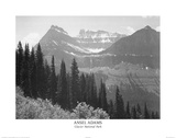 Ansel Adams Glacier National Park Art Print Poster