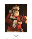 Tom Browning Old St Nick Art Print Poster