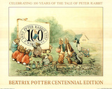 Celebrating 100 Years (The Tale Peter of Rabbit) Art Print Poster