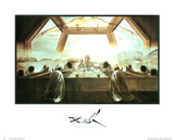 Salvador Dali The Last Supper Art Print Poster