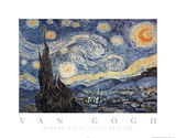Vincent van Gogh The Starry Night Art Print Poster