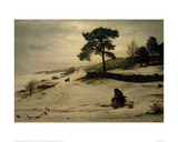 Blow, Blow, Thou Winter Wind, 1892 Giclee Print