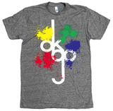 Ok Go - Tall Logo Splat T-Shirt